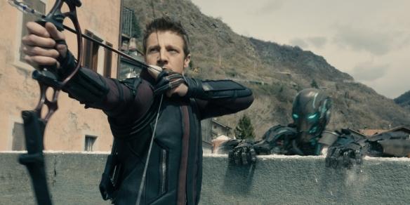 Marvel's Avengers: Age Of Ultron Hawkeye (Jeremy Renner) Ph: Film Frame ©Marvel 2015