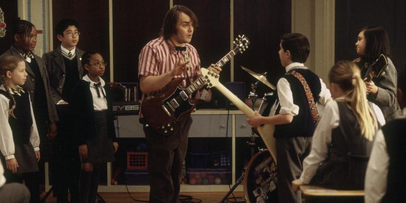 Jack Black School Of Rock Room Mate